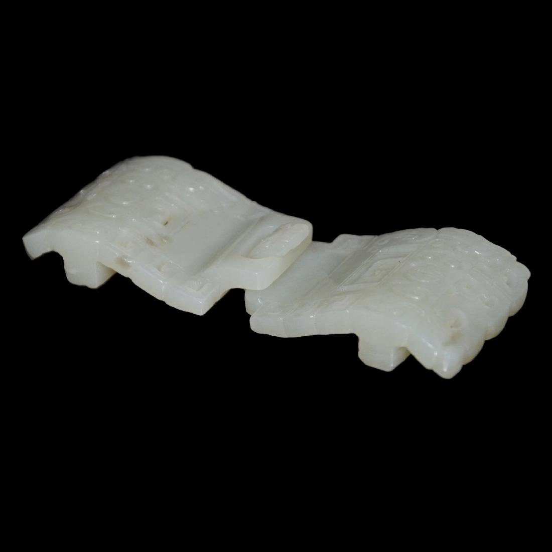 White Jade Belt Buckles - 4