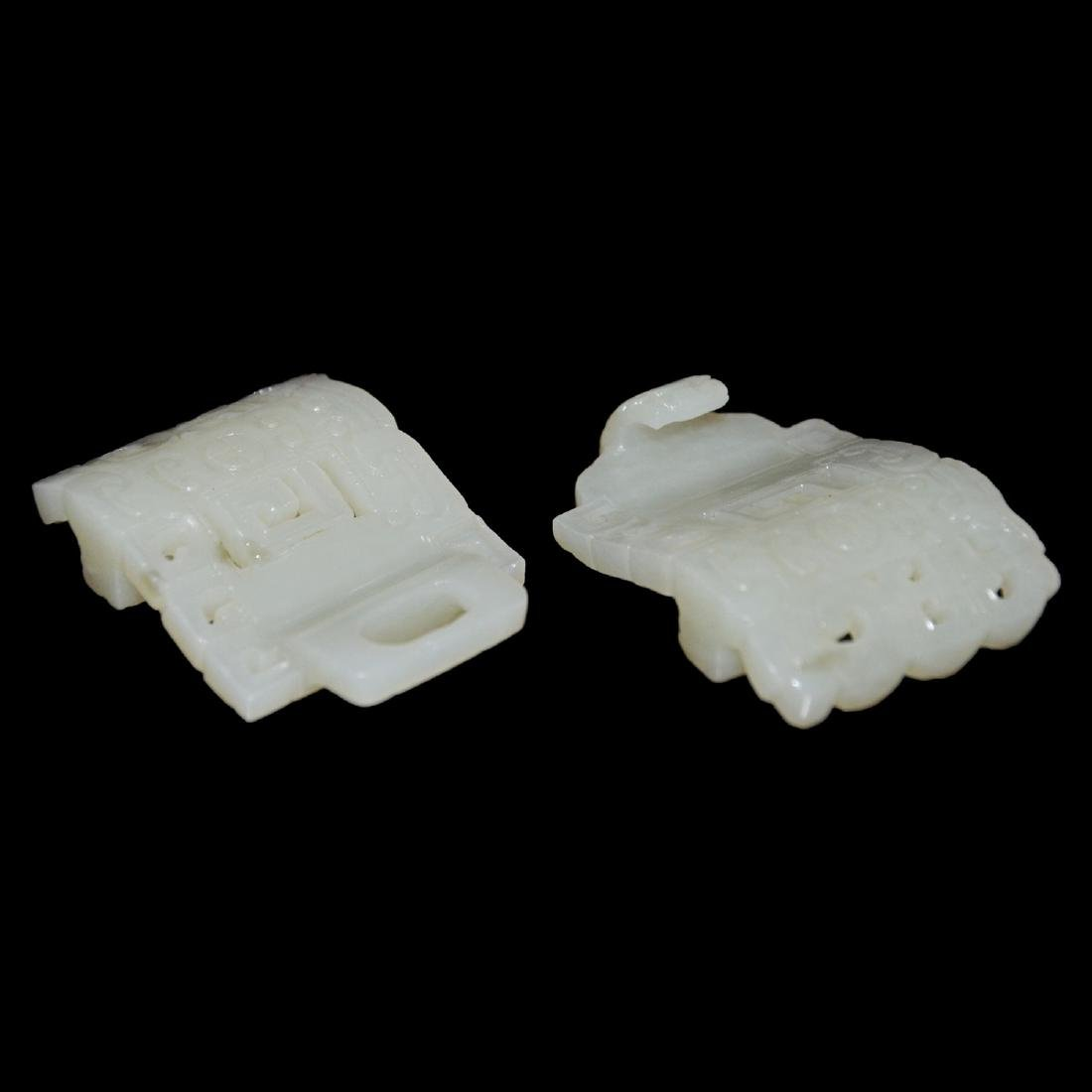 White Jade Belt Buckles - 5