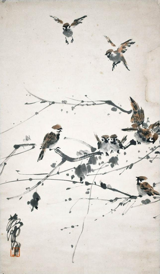 Huang Zhou Flock of Sparrows
