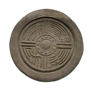 Han Dynasty, Imperial Palace Pottery Roof Tile