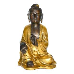 Qing, A Rare Gilt Bronze Bodhisattva Avalokiteshvara