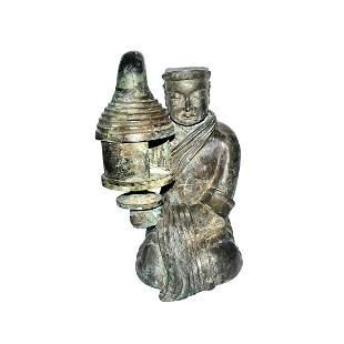 Han, Bronze Changxin Palace Lamp