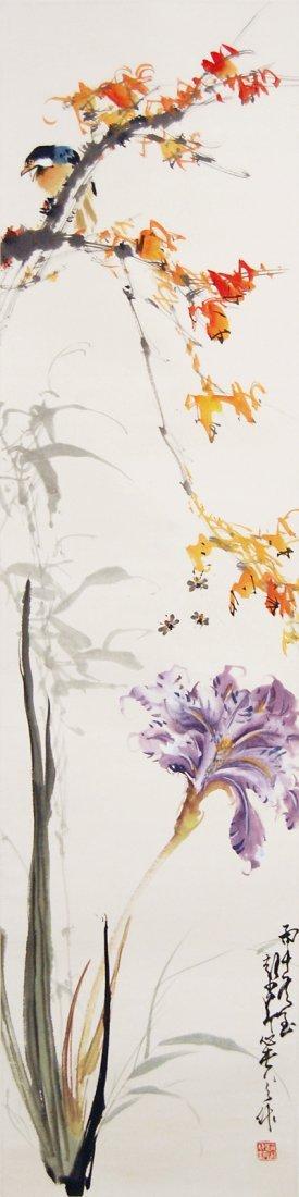 25: Zhao Shaoang  Bird on Maple