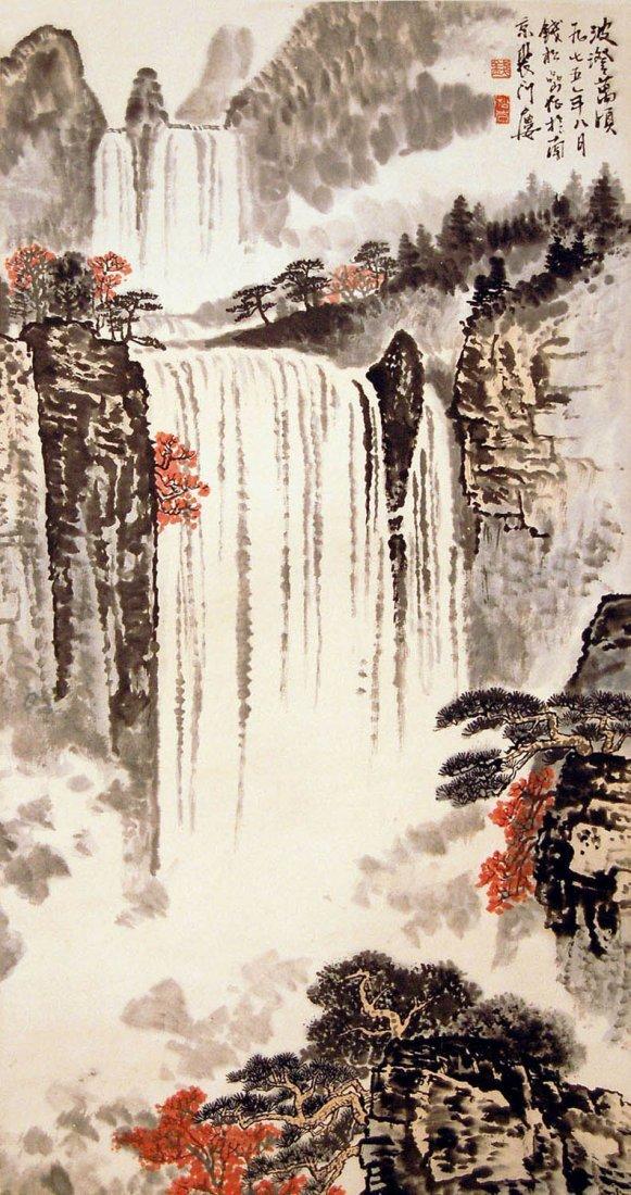2: Qian Songyan - Waterfall