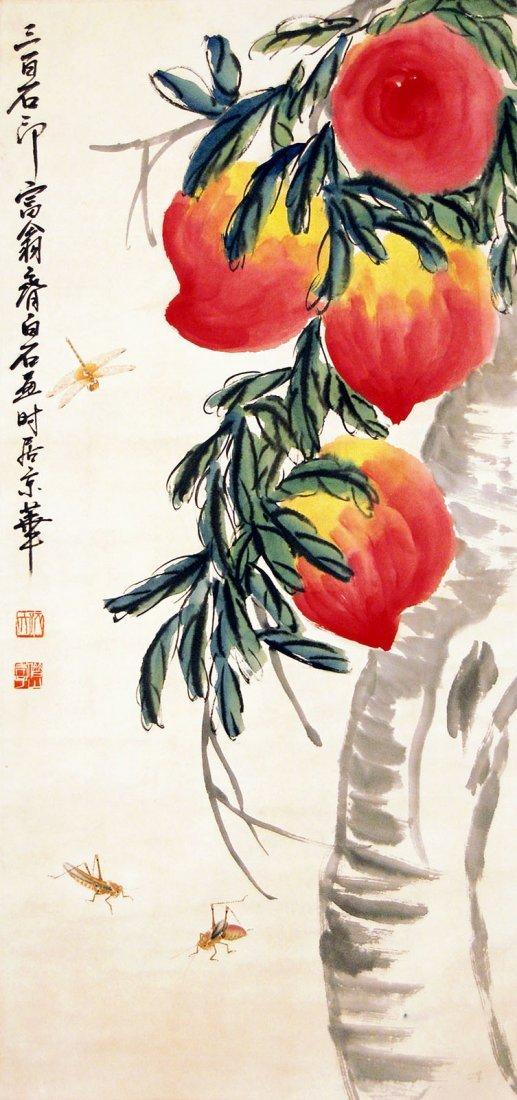 17: Qi Baishi - Massive Peaches