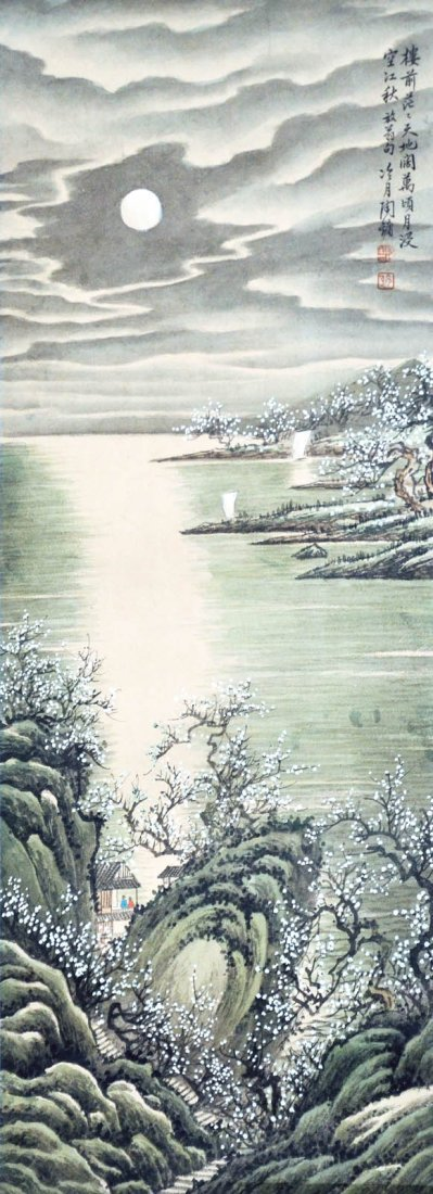 Tao Lengyue Moon-lit Autumn River