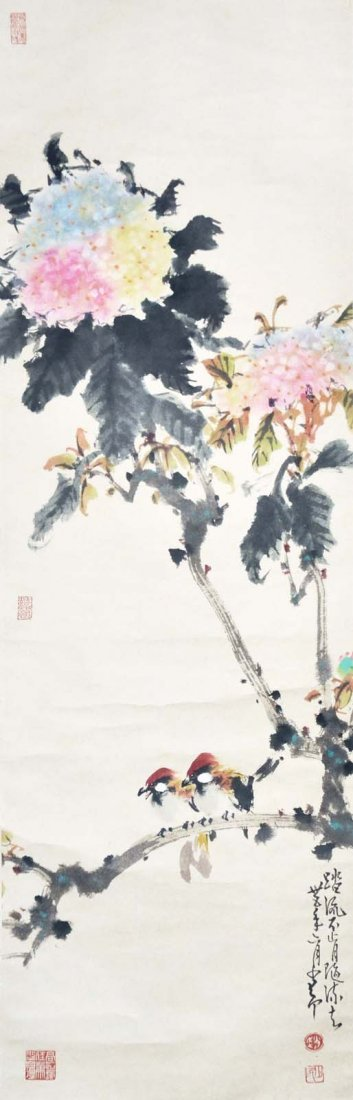 Zhao Shaoang    Birds and Blossoms