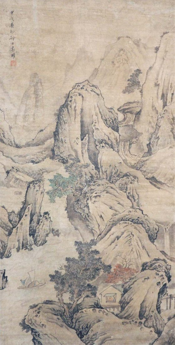 Yuan Yao  Qing Dynasty  Stormy Wind and Waves
