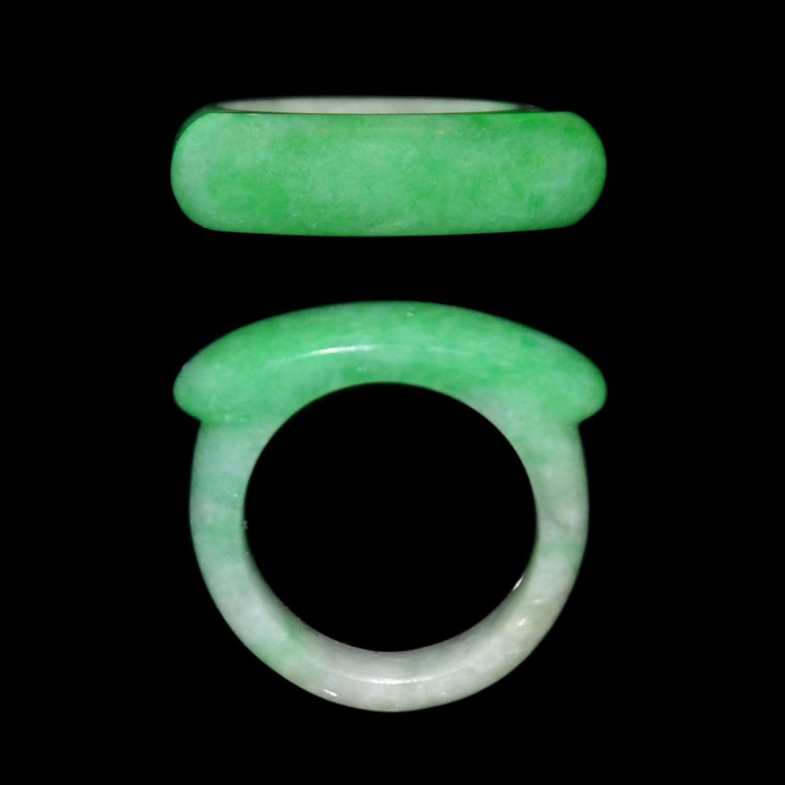 A Jadeite Saddle Ring