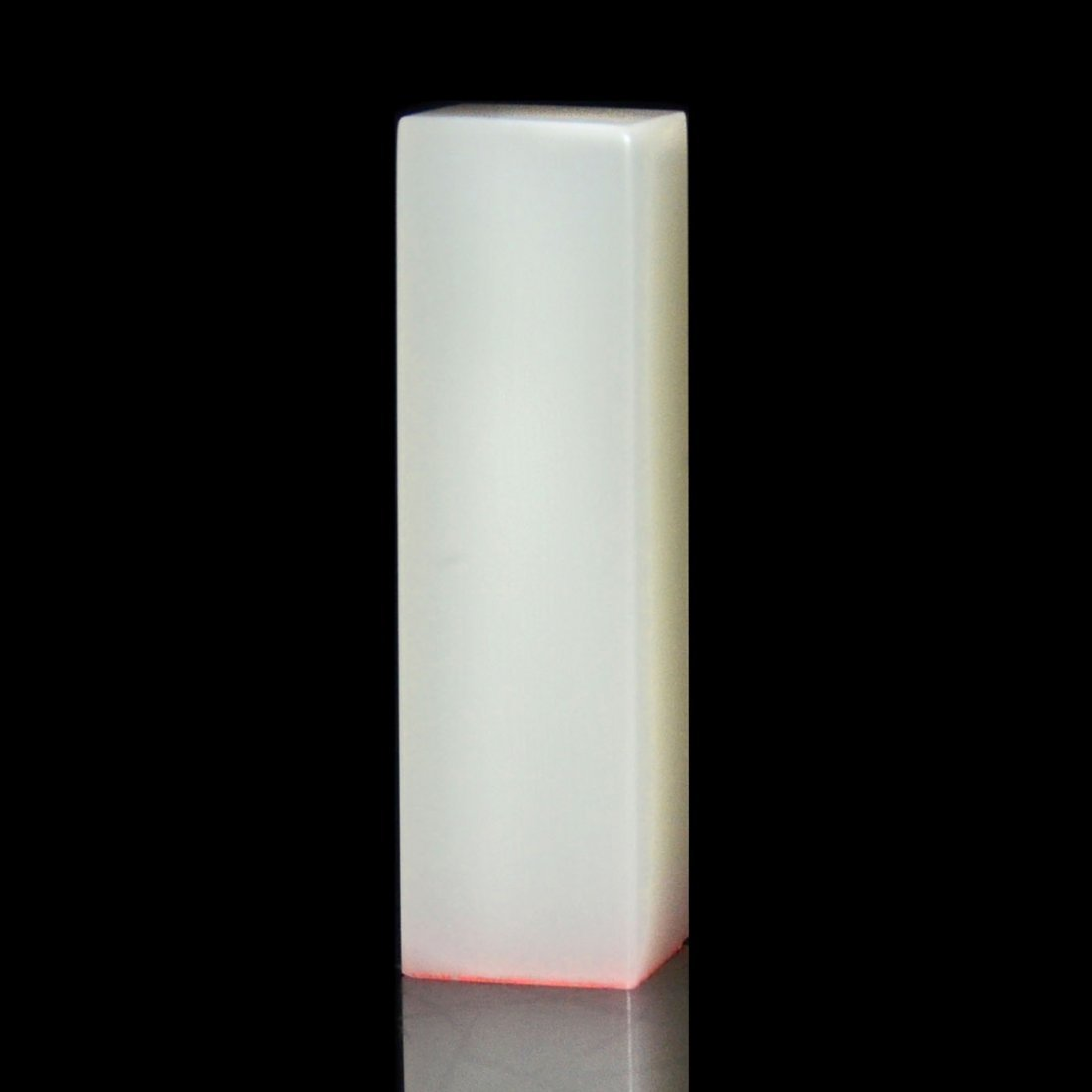 A Translucent White Furong Stone Columnar Seal