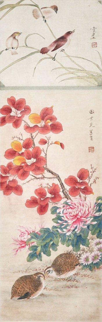 Liu Lishang Tian Shiguang Bird and Flower