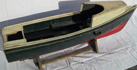 6: 1930s Gas Powered Planked Lobster Boat
