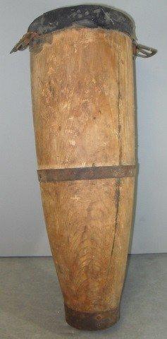 21C: Rare Civil War Era Wooden Amputee's Peg leg.