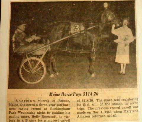 200: Maine & New England Harness Racing Memorabilia - 3