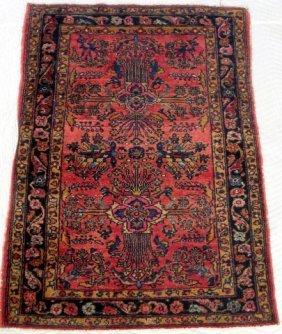 Antique Persian Lillihan Scatter Carpet