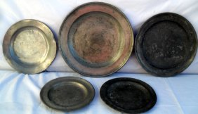14: 18th C Continental & American Pewter