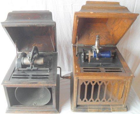 136: Edison Amberola Cylinder Phonographs
