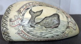 152: Sailor's Scrimshaw Whale's Tooth
