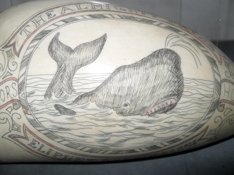 152: Sailor's Scrimshaw Whale's Tooth - 2