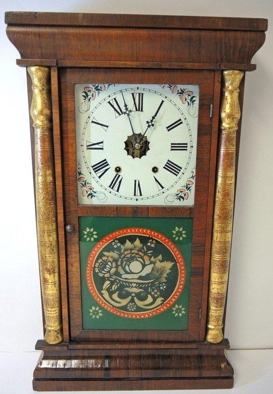 Seth Thomas Split Pilaster Ogee Mantle Clock