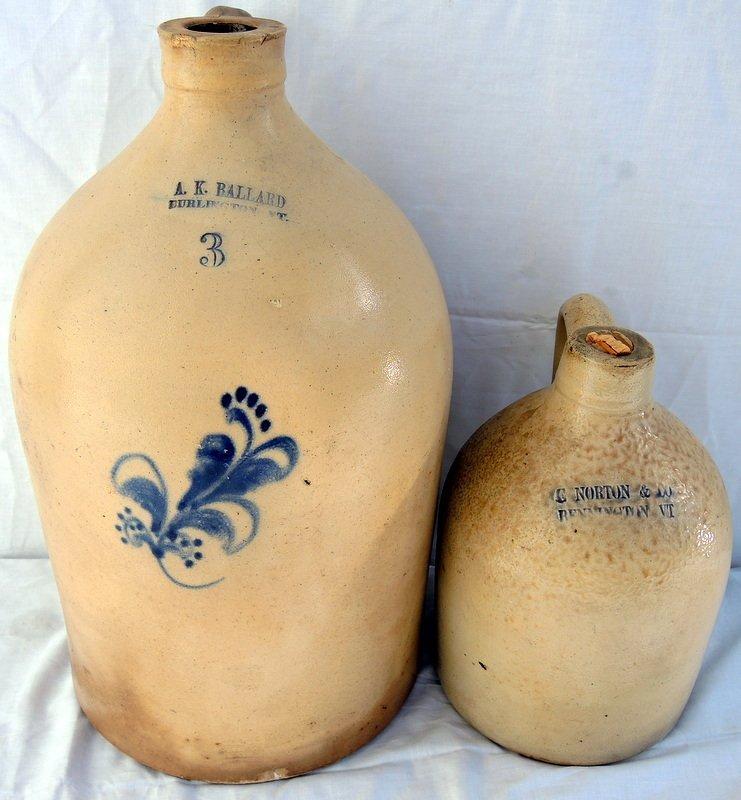 Two Piece American Stoneware