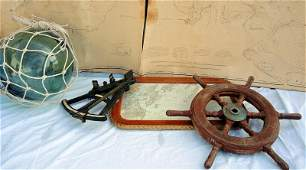 Antique Nautical Objects