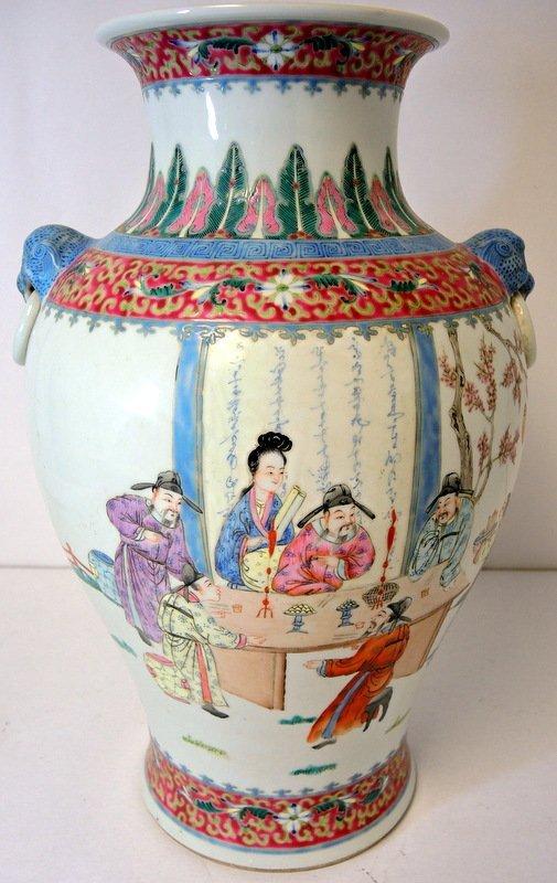 "Chinese ""Tong Chi"" Period Porcelain Vase"