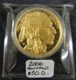 2006 F $50  Indian Head Gold Coin