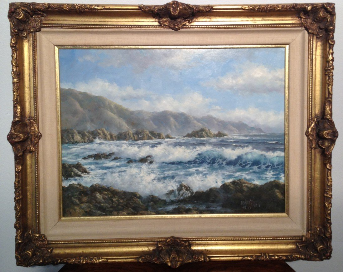 10: Robert Wee - Original Oil on board