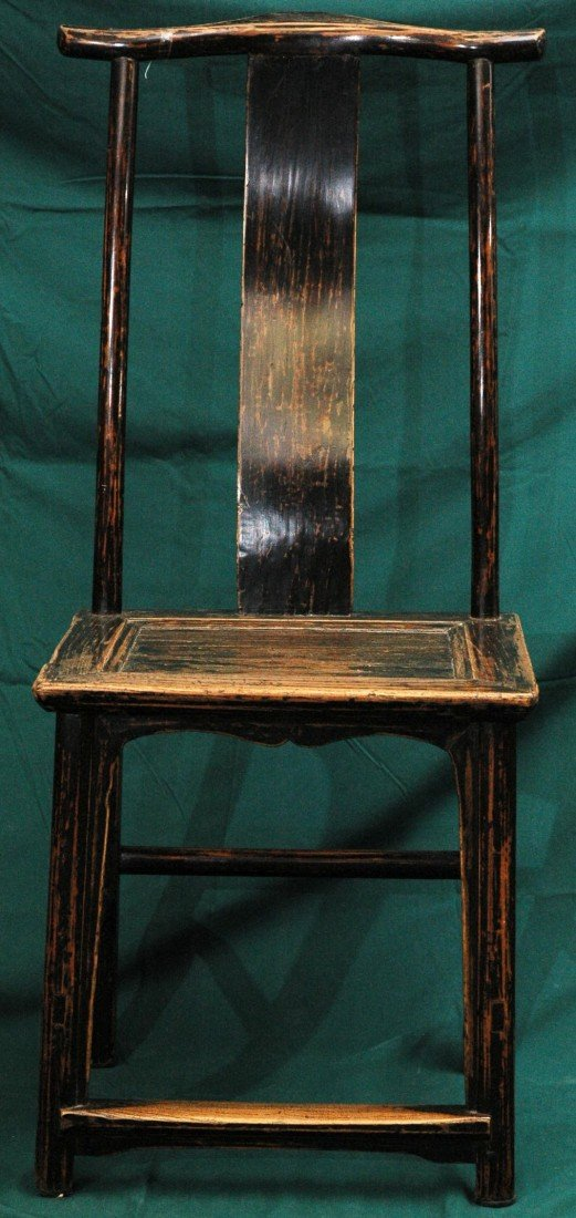 6: Antique Chinese Chair