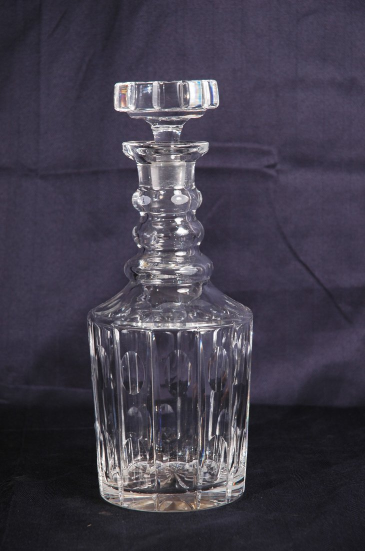 1: Crystal Decanter