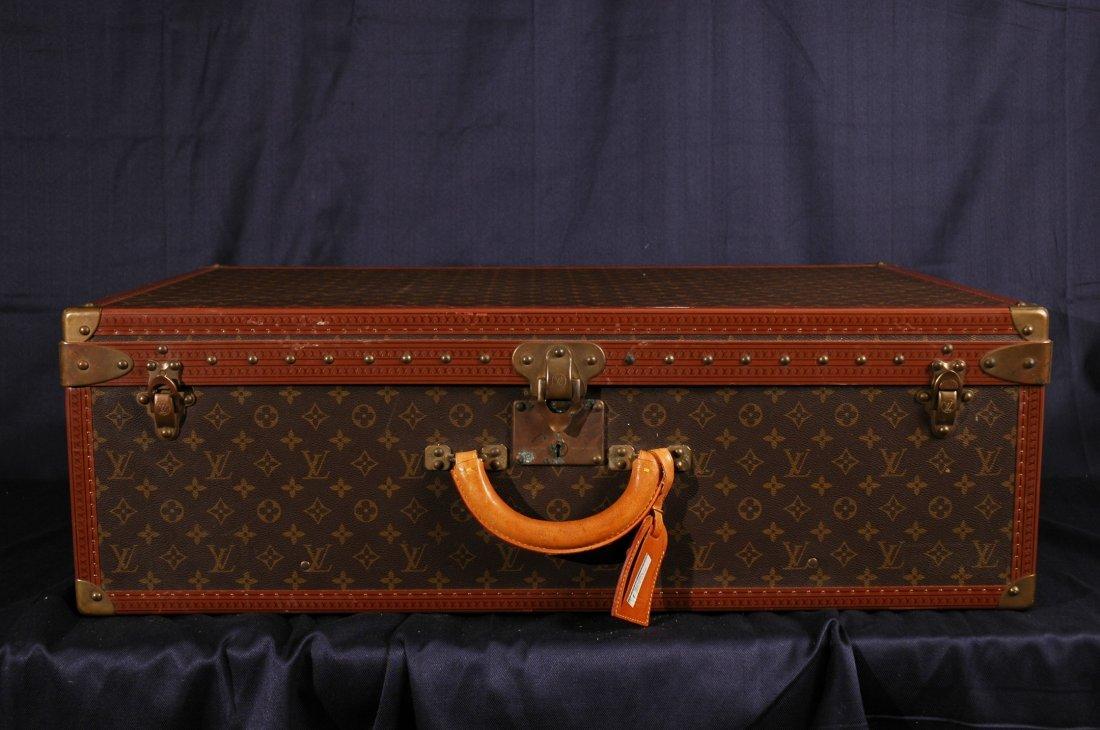 Vintage  Louis Vuitton Monogram Steamer Luggage Trunk