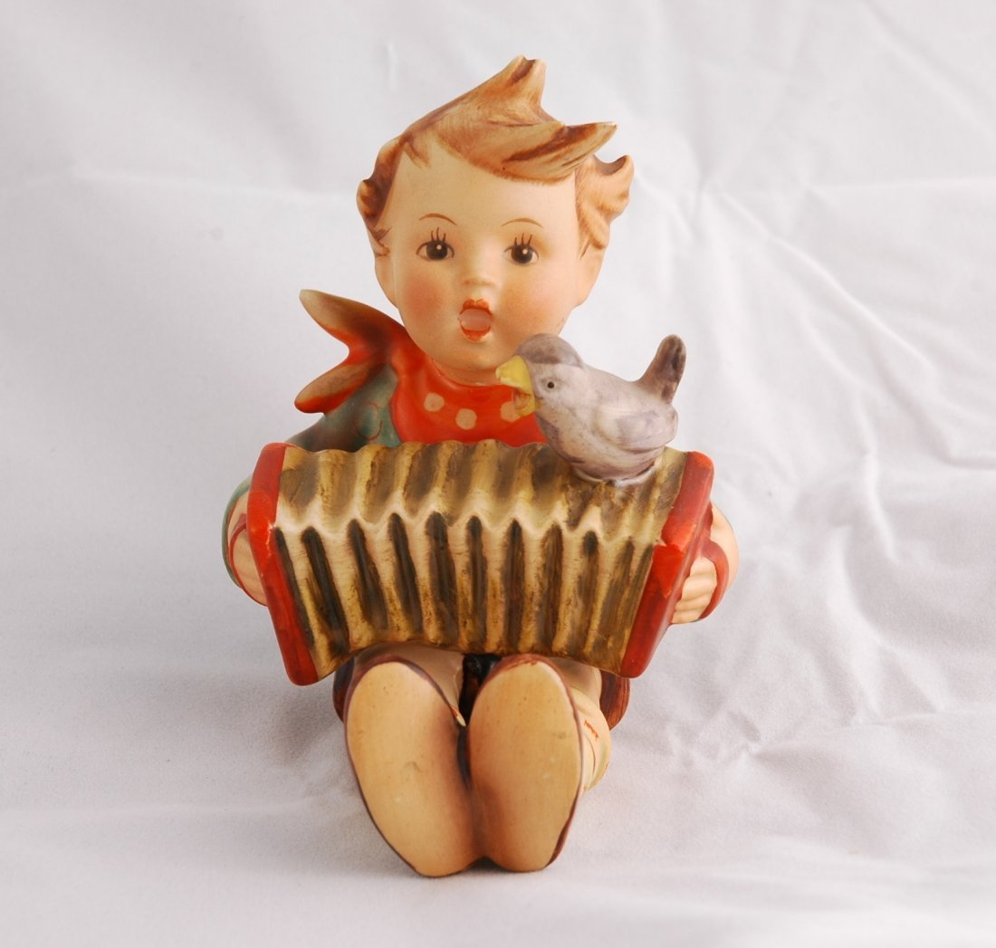 11: Hummel Boy Playing Accordion