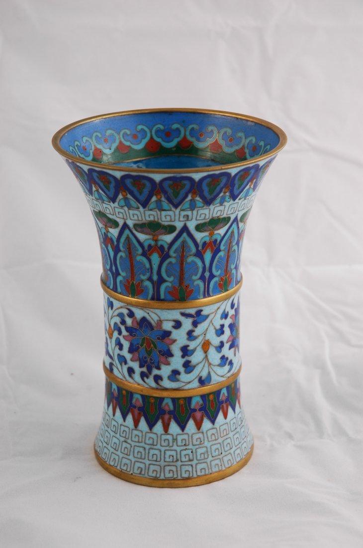 13: Cloisonné Vase