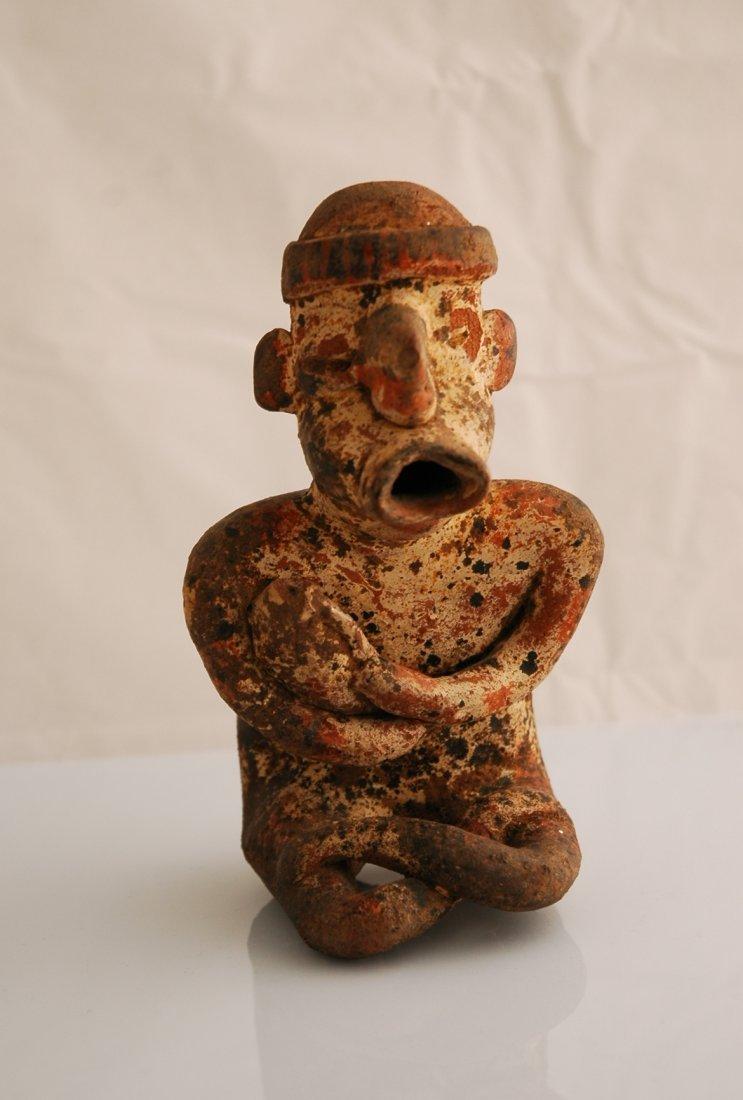 48: Pre- Columbian Statue