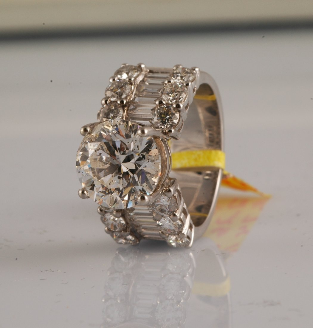 114:  6.77 ct Diamond Ring
