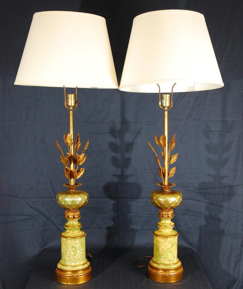 16: Pair of Vintage Table Lamps