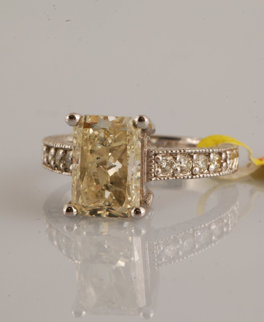 55A: Solitaire Diamond (4.01 ct)  Ring