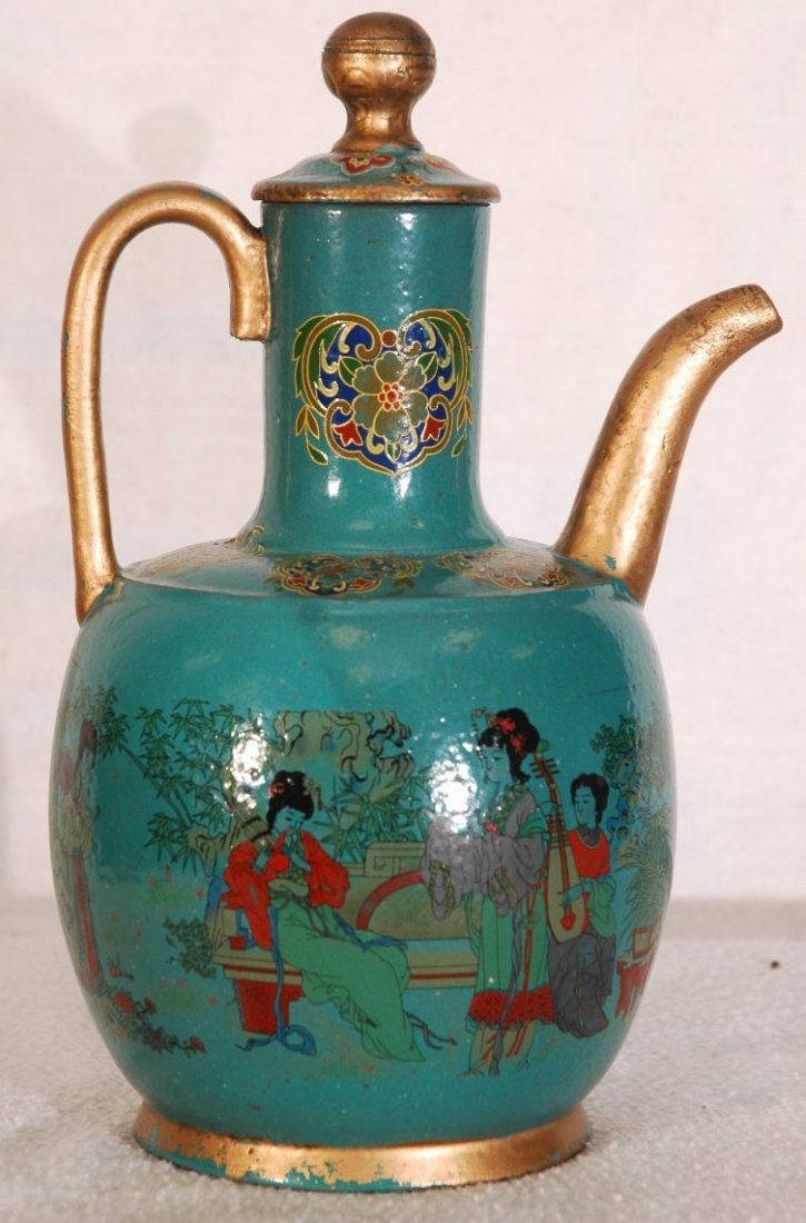 9: Antique Chinese Pitcher