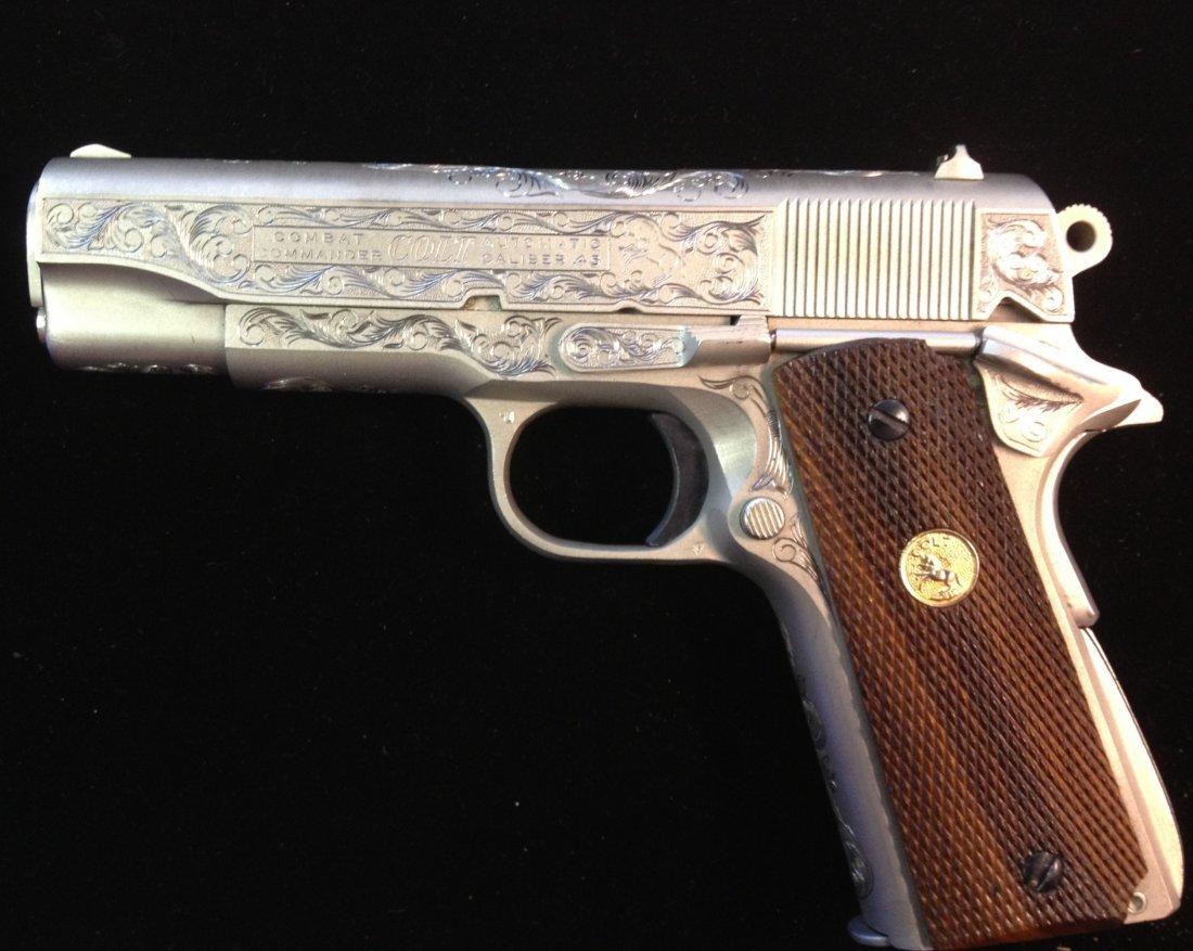 80A: Colt combat commander 70 series .45 caliber 1911 f