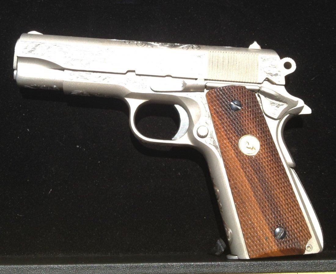 80A: Colt combat commander 70 series .45 caliber 1911 f - 2