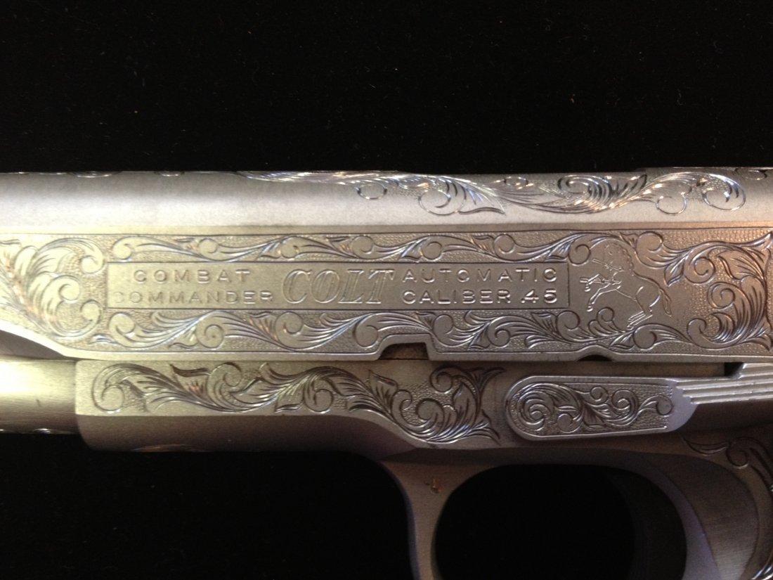 80A: Colt combat commander 70 series .45 caliber 1911 f - 4
