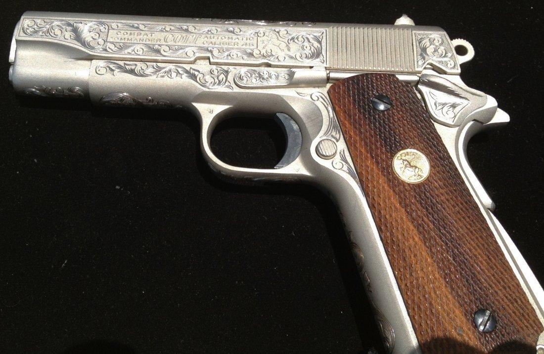 80A: Colt combat commander 70 series .45 caliber 1911 f - 5