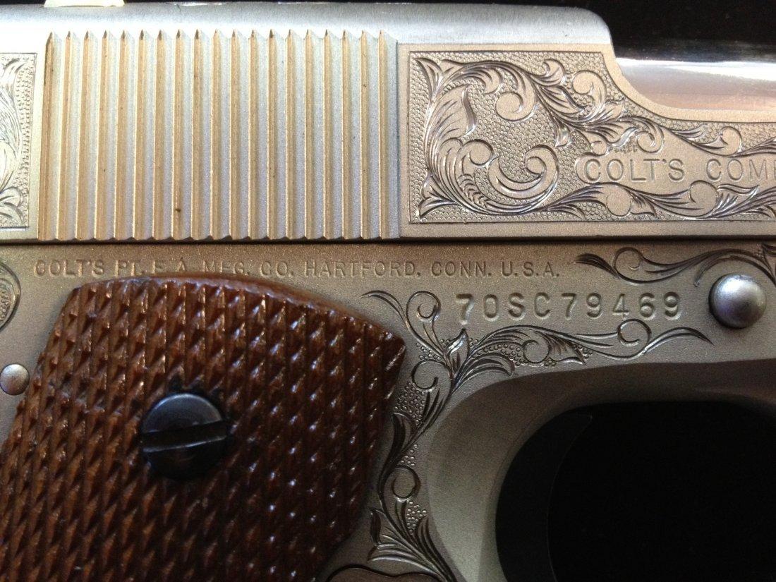 80A: Colt combat commander 70 series .45 caliber 1911 f - 6
