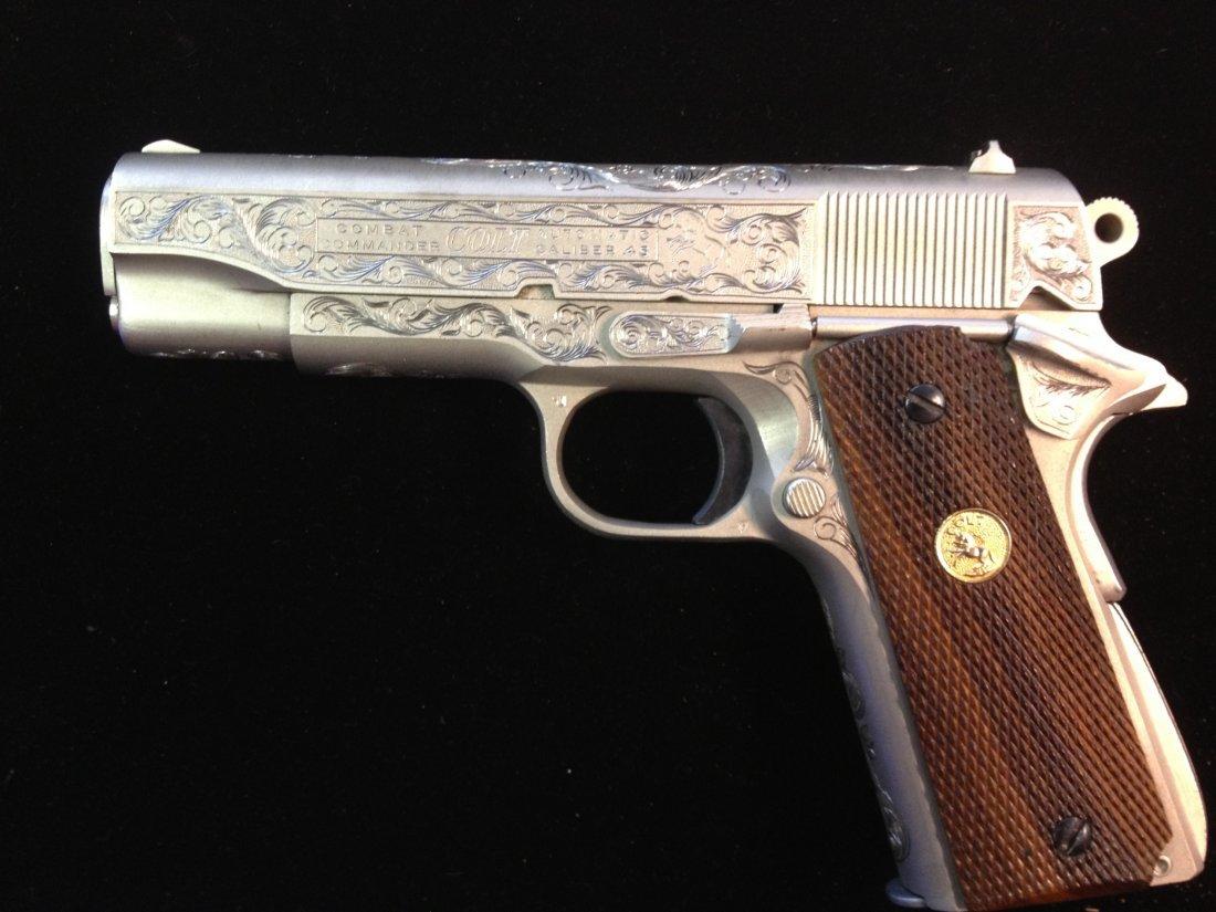 80A: Colt combat commander 70 series .45 caliber 1911 f - 7