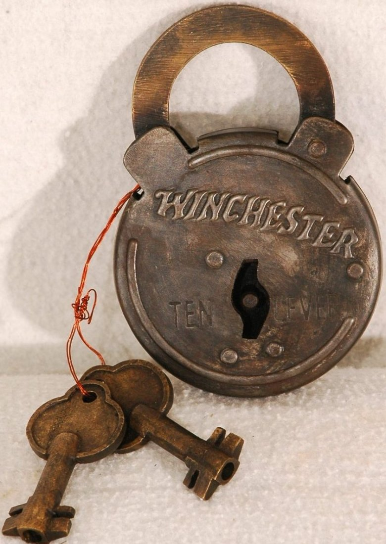 11A: Antique Winchester Rifle Lock