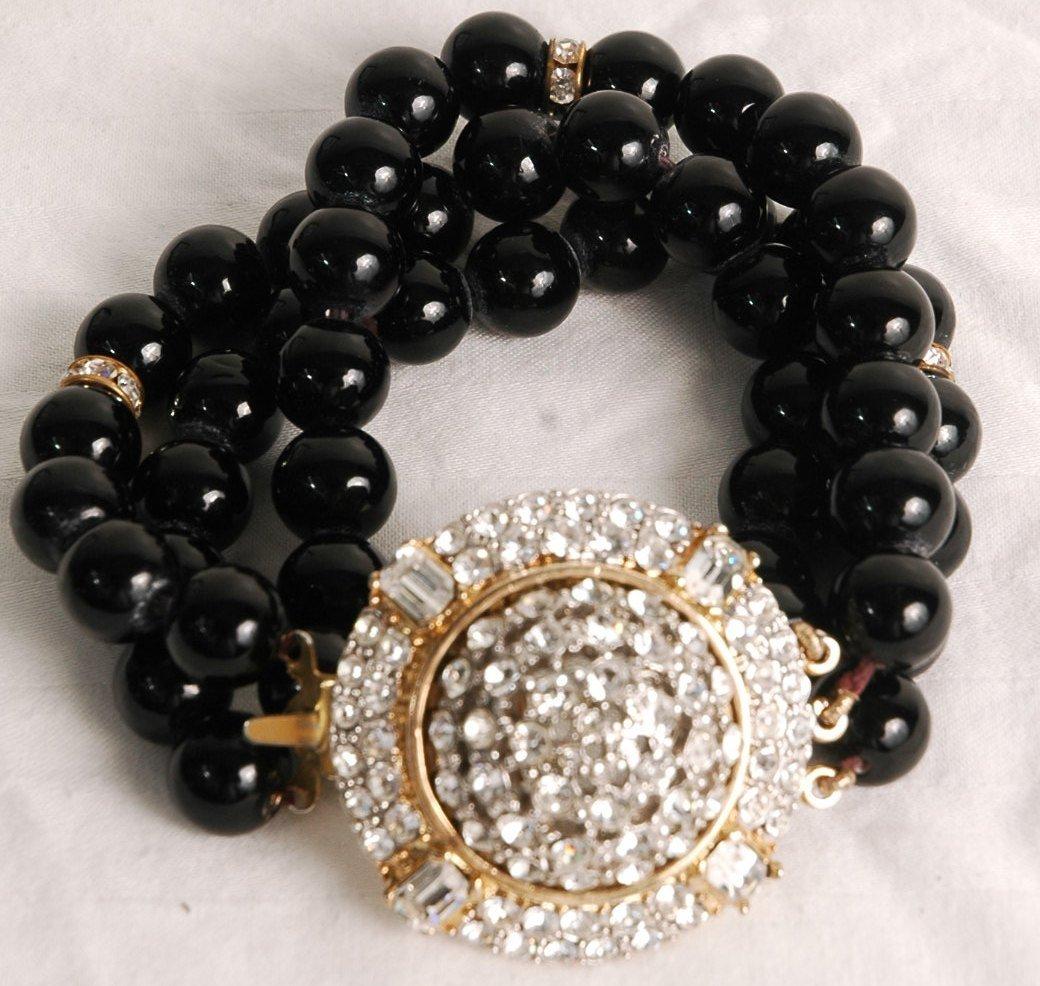 2: Valentino Crystal Bracelet