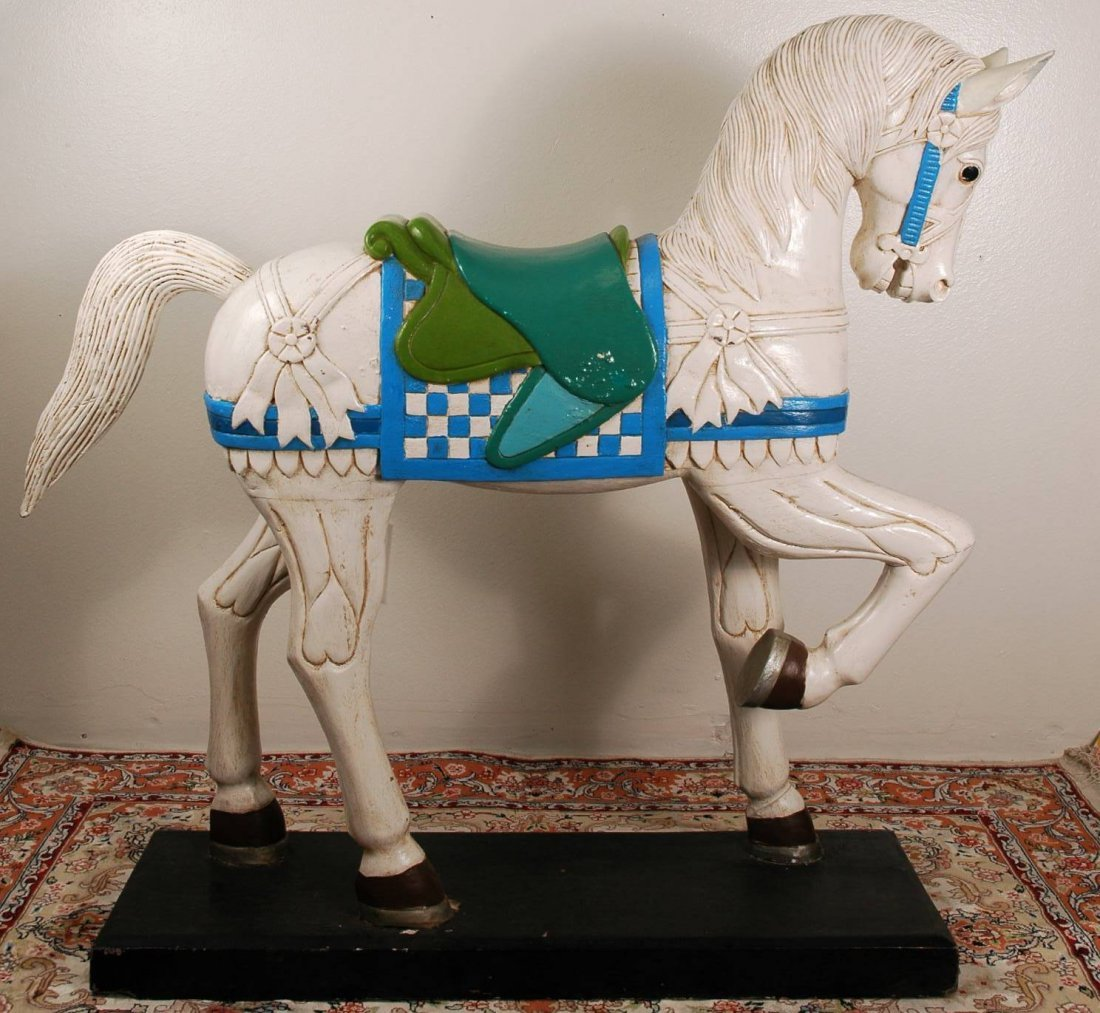 4: Wooden Carousel Horse