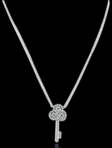 4A: 18K 0.46ct Diamond Necklace