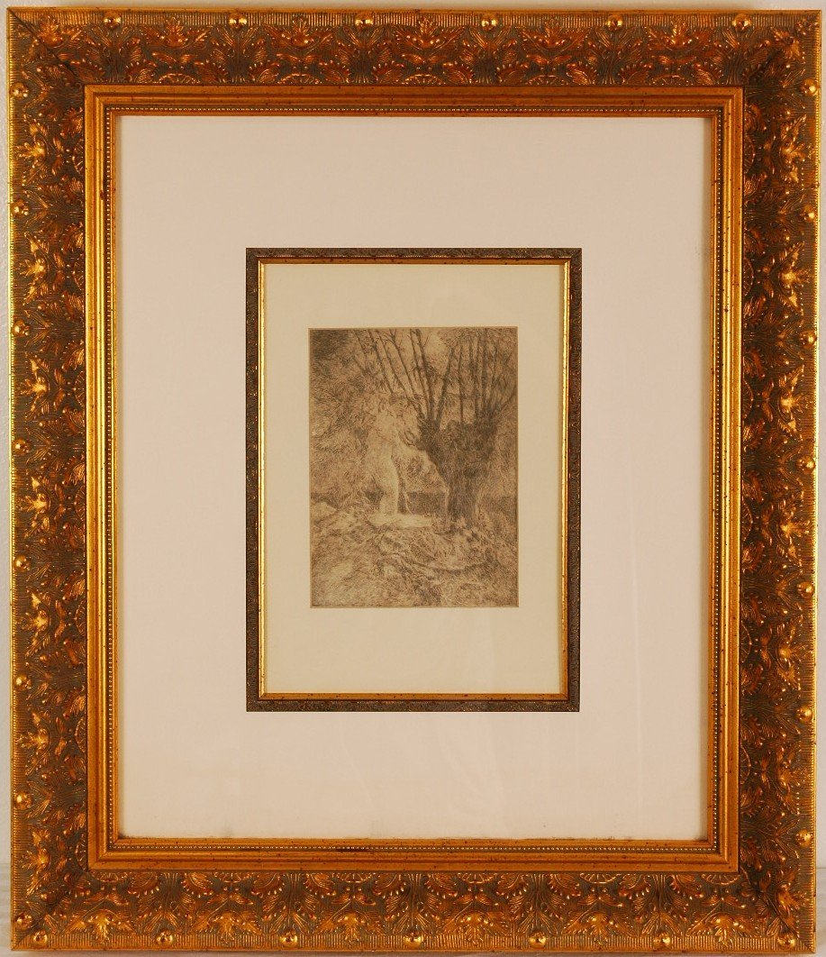 2: 19th Century Original Etching
